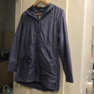 Columbia hooded light eight woman XS wind coat